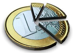 1 euro - split